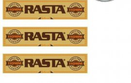 50 Libritos de Papel Rasta Natural slim king size. brown . sin quimicos ni blanqueantes.
