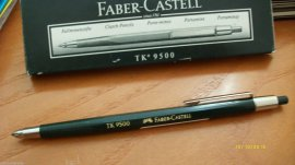 Pencil. Portaminas Faber-castell tk 9500 - 2 mm.